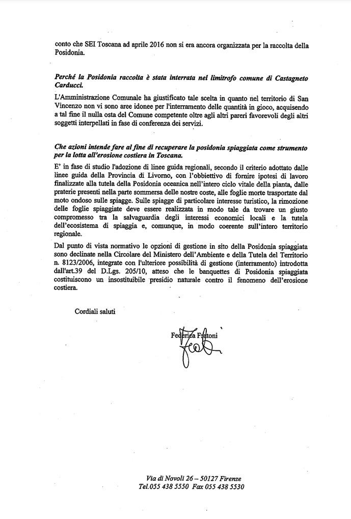 Risposta Regione Toscana pag.2